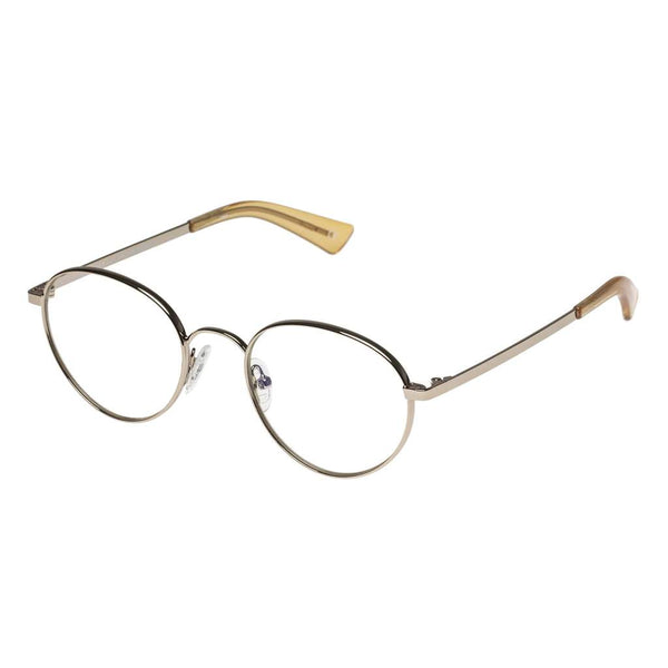 The Book Club - They Got Farther +3.00 Gold Eyeglasses / Clear Lenses