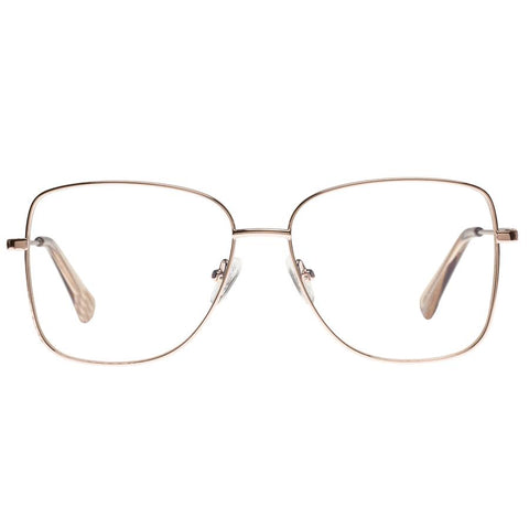 The Book Club - Lol Eater Gold Reading Glasses / Blue Light +2.50 Lenses