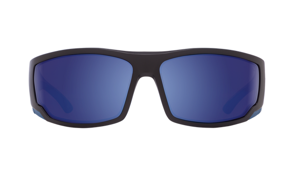 67a89eeac90d Spy - Tackle Matte Black Navy Blue Sunglasses   Happy Bronze Polarized Dark  Blue Spectra Lenses ...