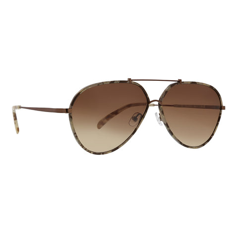 Trina Turk - Cebu 60mm Sand Sunglasses / Brown Gradient Lenses