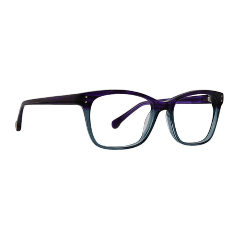 Trina Turk - Harper 51mm Purple Eyeglasses / Demo Lenses
