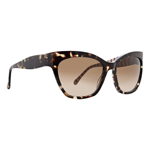 Trina Turk - Tortola 57mm Tortoise Sunglasses / Brown Lenses