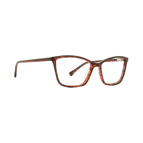 Trina Turk - Cercei 53mm Red Eyeglasses / Demo Lenses