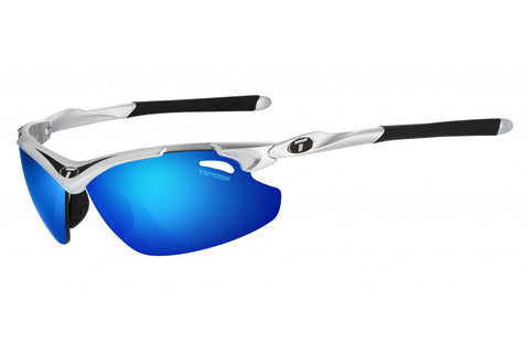 Tifosi - Tyrant 2.0 Race Black Sunglasses, Clarion Blue Polarized Lenses
