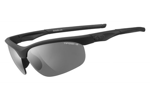 Tifosi - Veloce Tactical Matte Black Sunglasses, Clear / HC Red / Smoke Lenses
