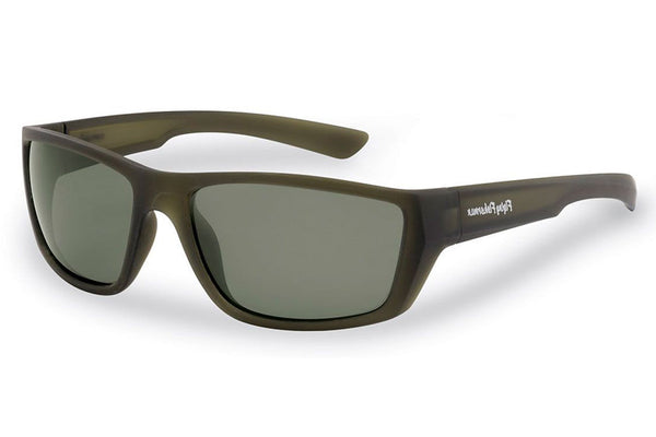 Flying Fisherman - Tailer 7729 Matte Moss Green Sunglasses, Smoke Lenses