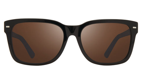 Revo - Taylor 56mm Black Sunglasses / Terra Lenses