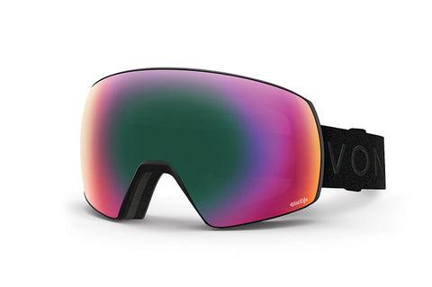 VonZipper - Satellite Black Satin Snow Goggles / Wildlife Lenses