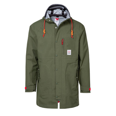 Topo Designs - Men's Tech Trench Olive Hoodie