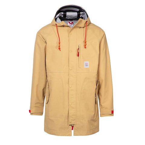 Topo Designs - Men's Tech Trench Tan Hoodie
