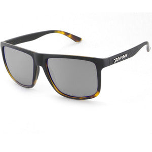 Peppers - Dividend Matte Black Fade To Tortoise Sunglasses / Smoke Polarized Lenses
