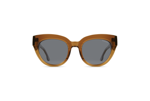Komono - Lucile Sand Sunglasses / Solid Smoke Lenses