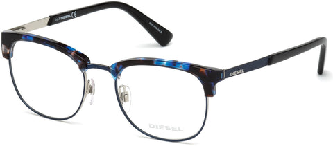Diesel - DL5275 Colored Havana Eyeglasses / Demo Lenses