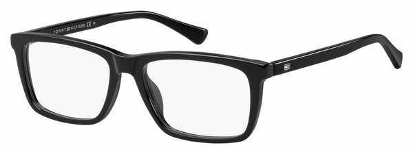 Tommy Hilfiger - Th 1527 52mm Black Eyeglasses / Demo Lenses