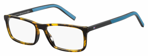 Tommy Hilfiger - Th 1591 55mm Dark Havana Eyeglasses / Demo Lenses