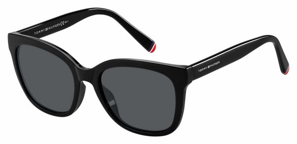 Tommy Hilfiger - Th 1601 G S Black Sunglasses / Gray Blue Lenses