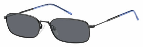 Tommy Hilfiger - Th 1646 S Matte Black Sunglasses / Gray Blue Lenses