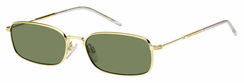 Tommy Hilfiger - Th 1646 S Gold Sunglasses / Green Lenses