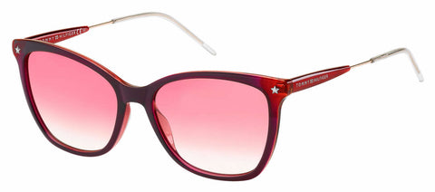 Tommy Hilfiger - Th 1647 S Red Fuchsia Sunglasses / Red Gradient Lenses