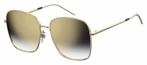 Tommy Hilfiger - Th 1648 S Gold Blue Sunglasses / Dark Blue Gradient Lenses