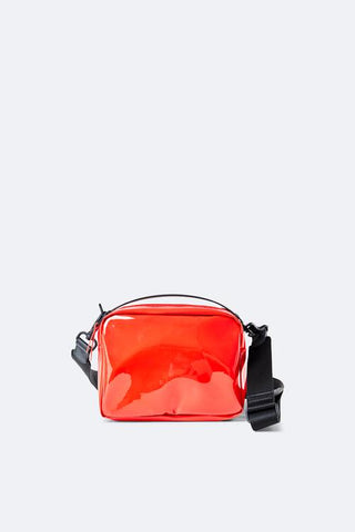 Rains - 1343 Glossy Red Box Bag