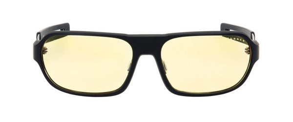 Gunnar - Trooper Onyx Eyeglasses / Amber Blue Light Lenses
