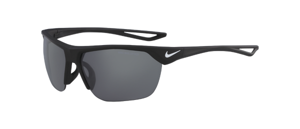 Nike - Trainer S EV1063 Black Sunglasses / Grey Silver Flash Lenses