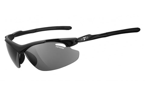 Tifosi - Tyrant 2.0 Matte Black Sunglasses, Golf Interchangeable EC / GT / Smoke Lenses