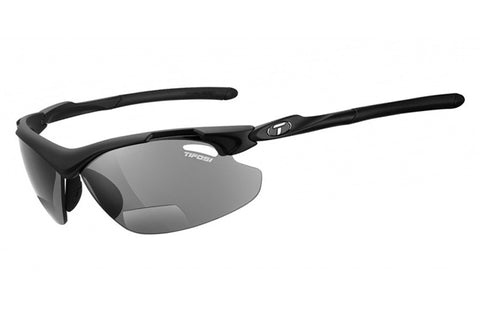 Tifosi - Tyrant 2.0 Matte Black Sunglasses, Smoke Reader Lenses
