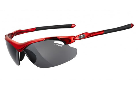 Tifosi - Tyrant 2.0 Metallic Red Sunglasses, Golf Interchangeable EC / GT / Smoke Lenses