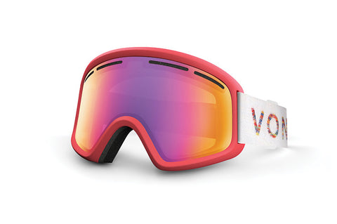 VonZipper - Trike Coral Snow Goggles / Pink Chrome Lenses