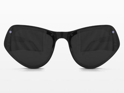 Spitfire - Ultra 2 Black Sunglasses, Black Lenses
