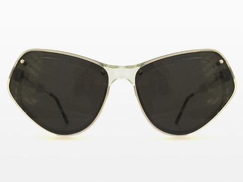 Spitfire - Ultra 2 Clear Sunglasses, Black Lenses
