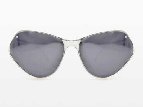 Spitfire - Ultra 2 Clear Sunglasses, Silver Mirror Lenses