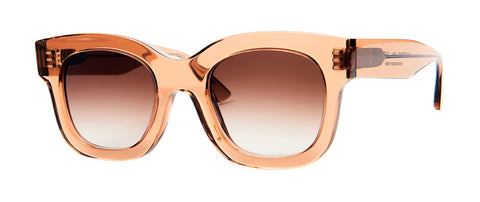 Thierry Lasry - Unicorny Translucent Toffee Sunglasses / Brown Gradient Lenses