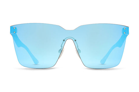 VonZipper - Alt Juice Tortoise Satin Sunglasses / Sky Chrome Lenses
