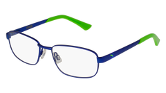 Puma - PJ0011O Junior Blue Eyeglasses / Demo Lenses