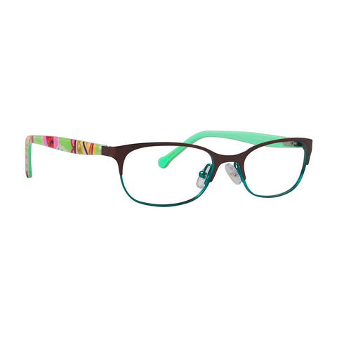 Vera Bradley - Misty 46mm Tutti Frutti Eyeglasses / Demo Lenses