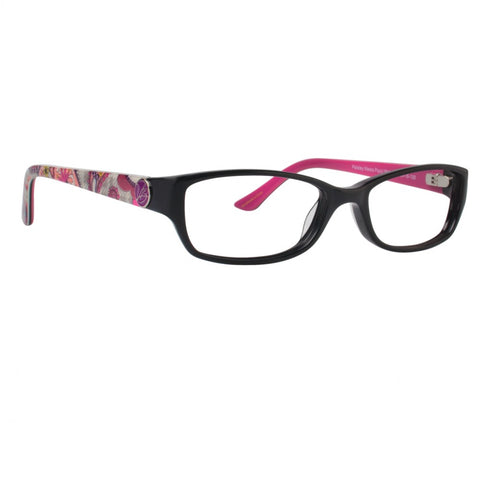 Vera Bradley - Paula 50mm Paisley Meets Plaid Eyeglasses / Demo Lenses