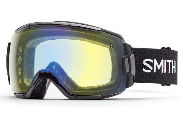 Smith - Vice Black Goggles, Yellow Sensor Mirror Lenses