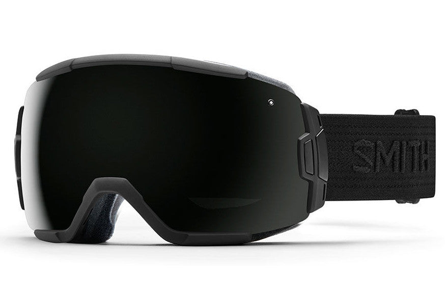 Smith - Vice Black - Black Goggles, Blackout Lenses