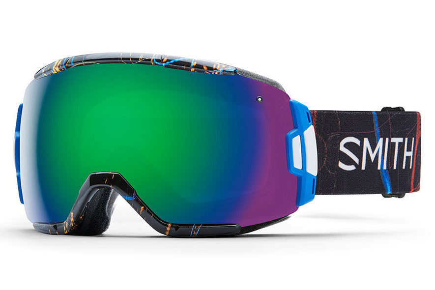Smith - Vice Exposure Goggles, Green Sol-X Mirror Lenses