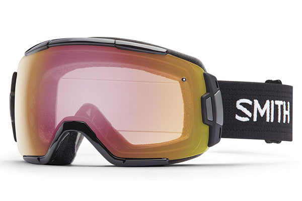 Smith Vice Black Goggles, Photochromic Red Sensor Lenses