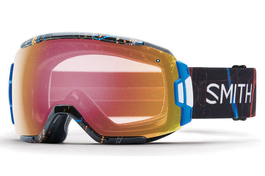 Smith - Vice Exposure Goggles, Red Sensor Mirror Lenses