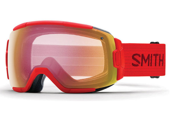 Smith - Vice Fire Goggles, Red Sensor Mirror Lenses