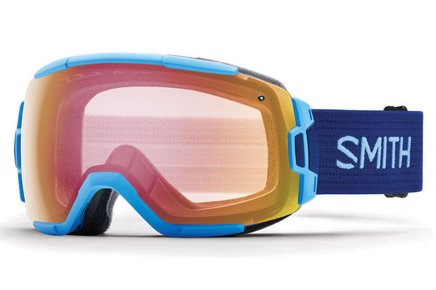 Smith - Vice Light Blue Goggles, Red Sensor Mirror Lenses