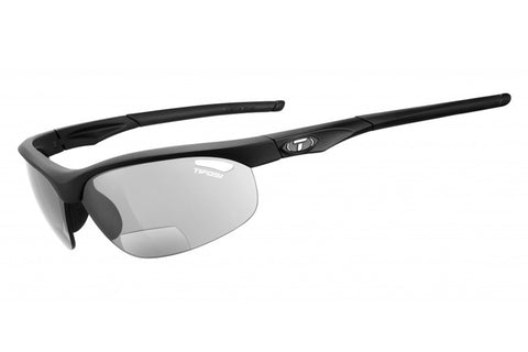 Tifosi Veloce Matte Black Sunglasses, Light Night Fototec Reader Lenses