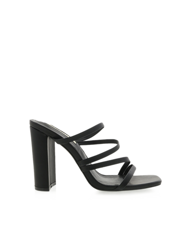 BiLLiNi - Women's Verona Black Block Heels