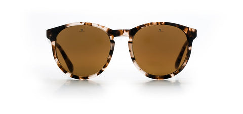 Vuarnet - District 1616 Rose Tortoise Sunglasses / Pure Brown Lenses