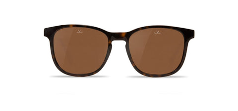 Vuarnet - District 1618 Shiny Tortoise Sunglasses / Pure Brown Lenses